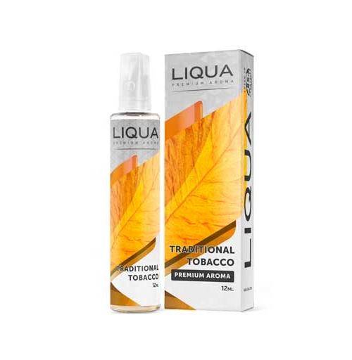 Liqua Traditional Tobacco 12ml/60ml Bottle flavor