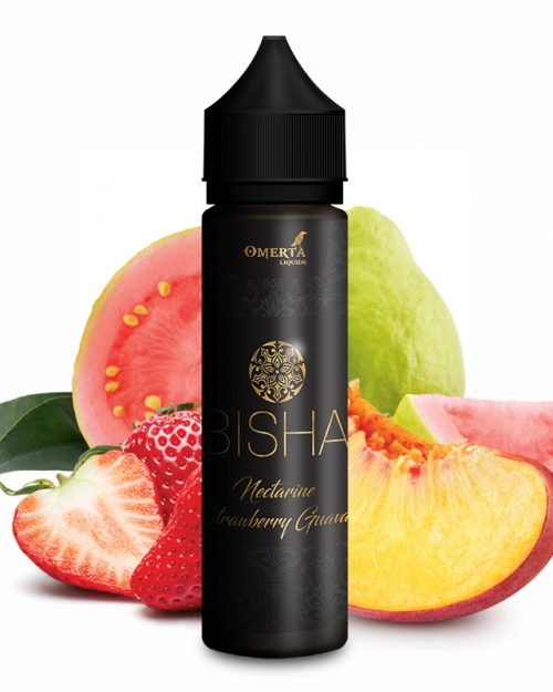 BISHA NECTARINE STRAWBERRY GUAVA 20/60ml